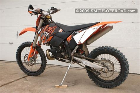 2008 Ktm 250 Xcw New Graphics Kit From Ridepg For The 2009 Ktm 250 Xcw