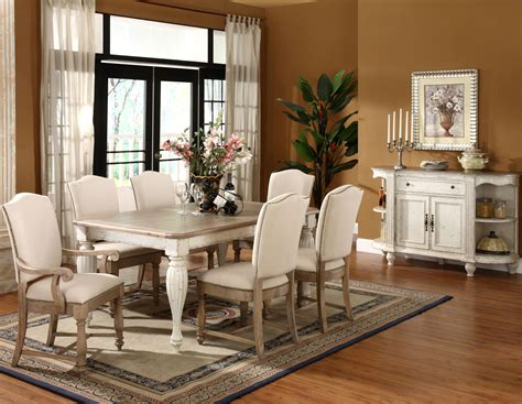 Two tone dining room set