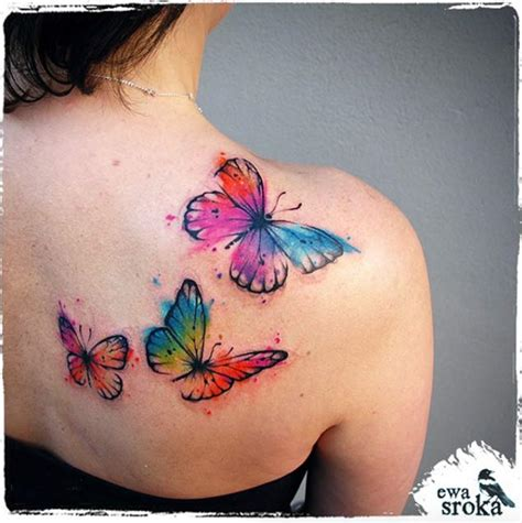 butterfly watercolor tattoo 35 breathtaking butterfly designs for