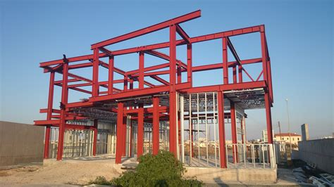 steel frame house cyprus individual architecture