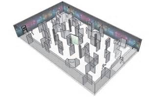 Laser Tag Floor Plan Laser Tag Systems Delta Strike International