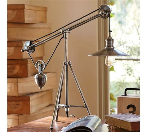 Pulley Floor L Pottery Barn Pulley Task Table L