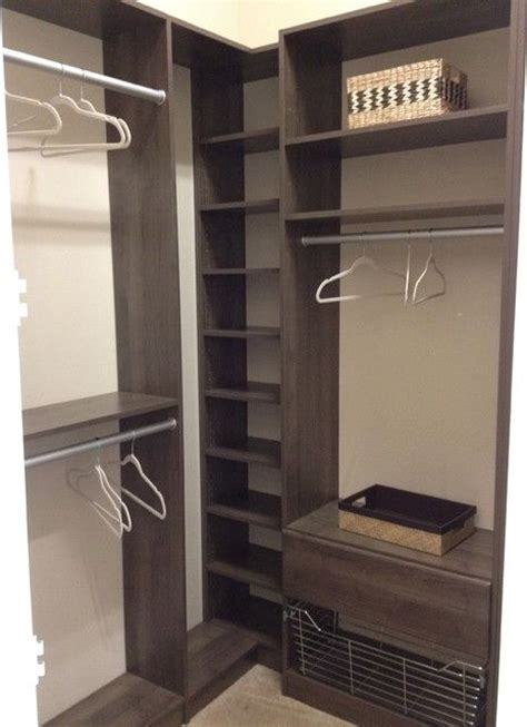 Wardrobe Shelving Solutions Best 25 Corner Closet Ideas On
