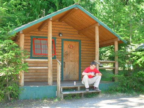 log cabin resort log cabin resort olympic national park wa cground