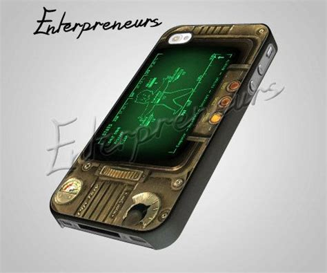 pipboy 3000 fallout iphone 4 4s 5 samsung by enterpreneurs 15 00 iphone