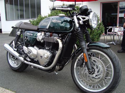 Triumph Motorrad Umbauten by Umgebautes Motorrad Triumph Thruxton 1200 Motorrad
