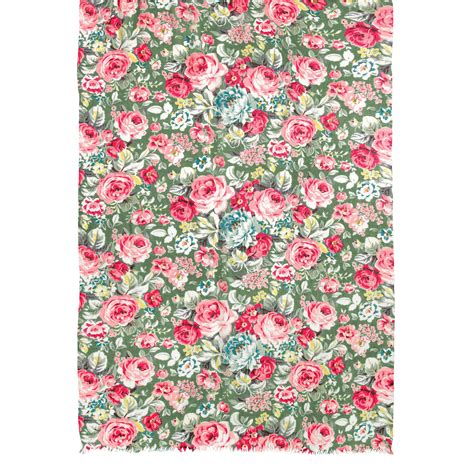 Cath Kidston 7 lyst cath kidston greenwich print scarf