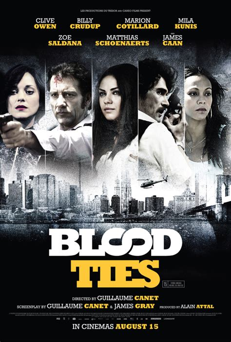 guillaume canet blood ties blood ties movie review the upcoming