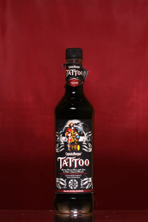 captain morgan tattoo the liquor collection