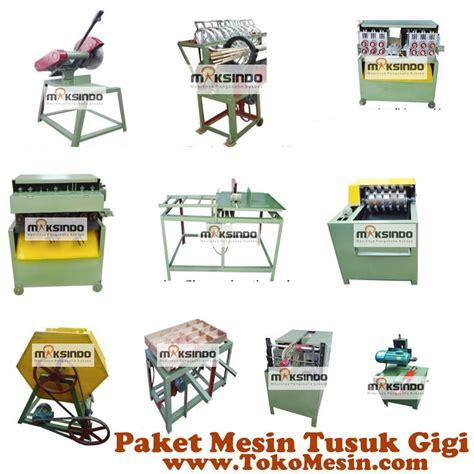 Paket 1 Pertanian mesin tusuk gigi paket lengkap maksindo toko mesin maksindo