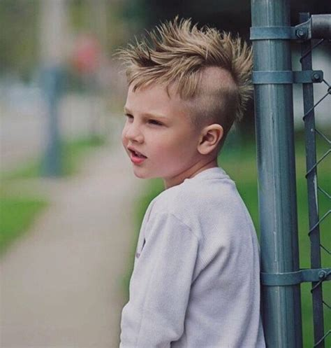 edgy boy haircuts 20 awesome and edgy mohawks for kids