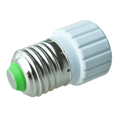 Adaptor Led e27 to gu10 extend base led light bulb l adapter converter socket hp ebay