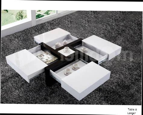Attrayant Table Basse Salon Roche Bobois #1: Tables-Basses-Salon-Roche-Bobois-Table-Basse-Design-Quatre-Tiroirs-Larvik-Panneaux-Particules-Design-Blanc-Noir-Laque-Brillant.jpg