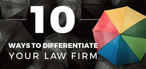 10 Ways To Your by 10 Ways To Differentiate Your Firm Inbound Marketing