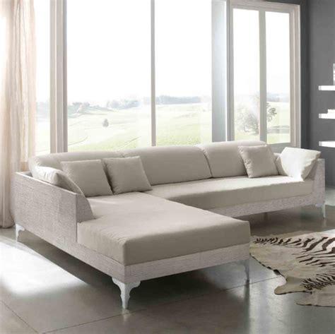 divano bambu divano bamb 249 angolare white divani angolari