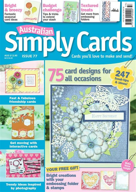 Simply Cards And Papercraft Magazine - 17 best images about craft paper on papercraft