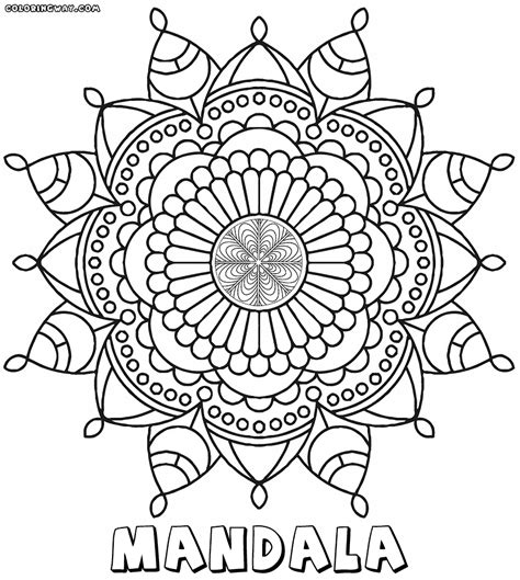 coloring castle mandala pages intricate mandala coloring pages coloring pages to