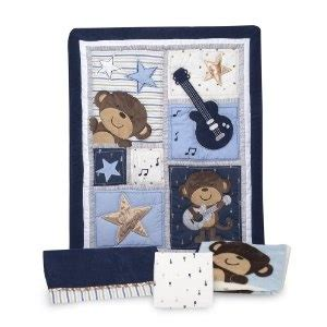 rockstar crib bedding 10 top posts carter s 4 crib bedding set monkey