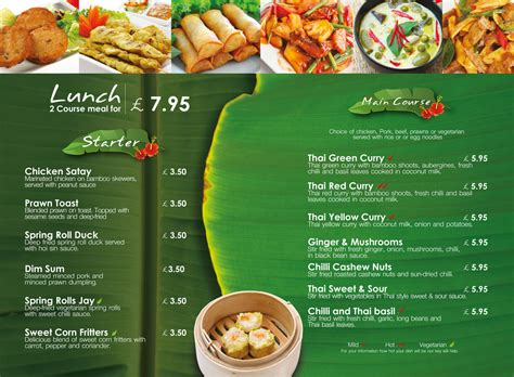Thai Banana Leaf Restaurant   Lunch