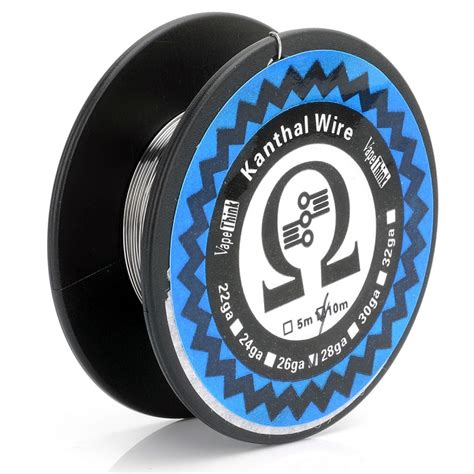 Authentic Kanthal A1 By Ud 26 044mm Ga 1 Ohm Prebuilt Coil authentic vapethink kanthal a1 26 awg 0 4mm 10m resistance