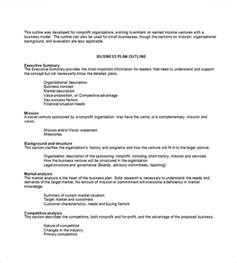 business plan template for non profit business plan template 97 free word excel pdf psd