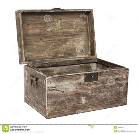 the in the chor trunk an blanc mystery books vieux coffre en bois ouvert image stock image 37896025