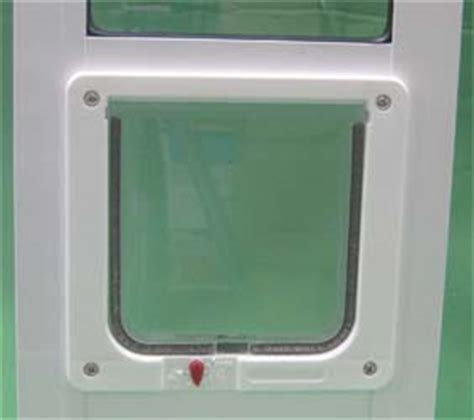 Ideal Lockable Cat Flap Side Sliding Window Inserts Sliding Glass Cat Door Insert