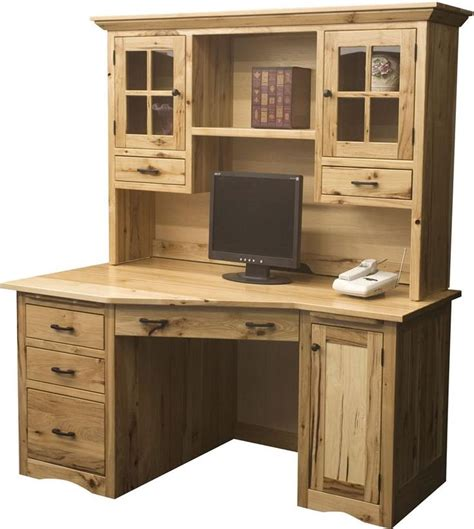 Mission Style Computer Desk With Hutch Best 25 Office Desk With Hutch Ideas On Pinterest Office Desks Home Office Desks And Office Desk
