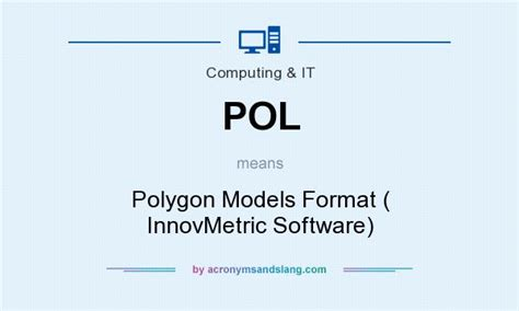 html format means pol polygon models format innovmetric software in