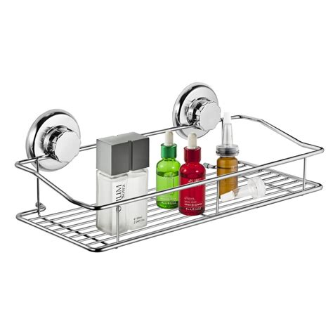 suction cup shelf bathroom suction shower basket stainless steel suction cup shower