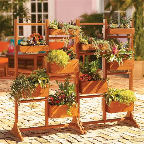 Deck Planters For Privacy by Privacy Planter The Green