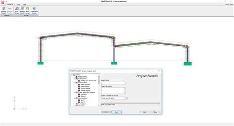 portal frame design to bs 5950 smart portal 2d portal frame design cads uk