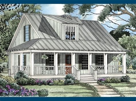 rustic country home plans with wrap around porch safe harbor country cabin home the cottage house plans