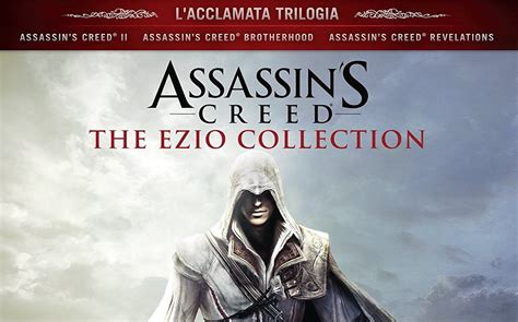 Kaset Ps4 Assassins Creed The Ezio Collection assassin s creed the ezio collection disponibile ps4 xbox one smartworld