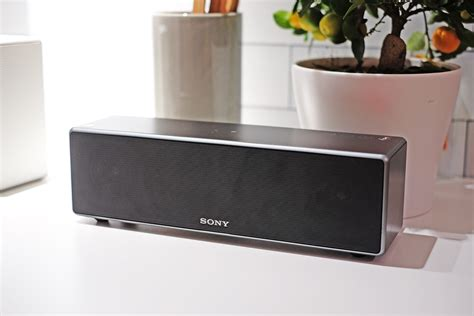 Rectangular Kitchen Design sony s new multi room speakers want to knock sonos off its