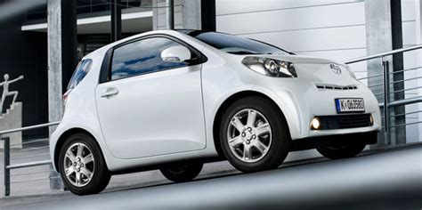 toyota mini car toyota announces pricing and specs for iq minicar