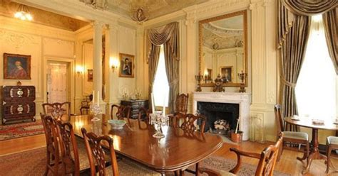 Built 1899 Burrage House Boston Victorian Mansion Dining Boston Dining Rooms