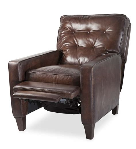 push back leather recliner push back leather recliner