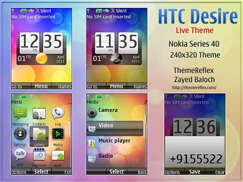 themes nokia x2 android htc desire live theme for nokia x2 240 215 320 updated