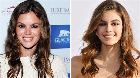 kaia gerber rachel bilson famous doppelgangers celebrity pairs we can t tell apart