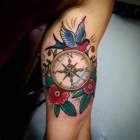compass tattoo american traditional 50 common american traditional tattoo designs and ideas