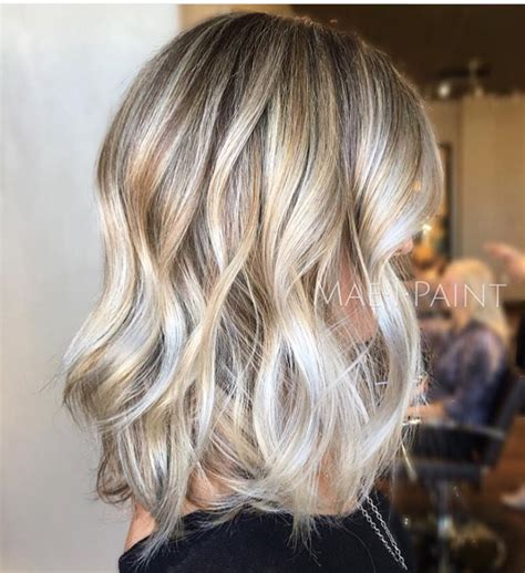 silver highlights lowlights gorgeous mixed blonde ash silver toned highlights mixed
