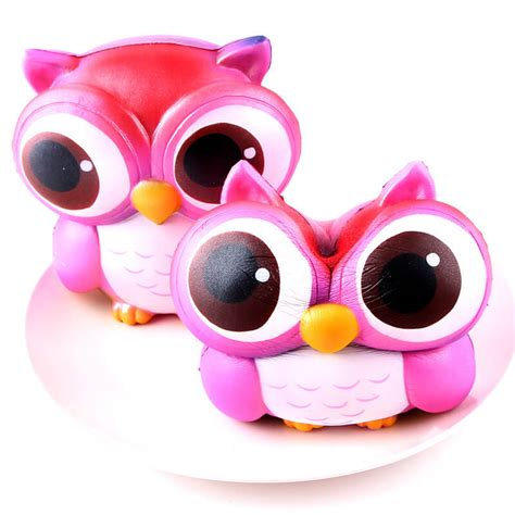 Squishy Doll Owl kawaii owl squishy rising toys squishy sq078