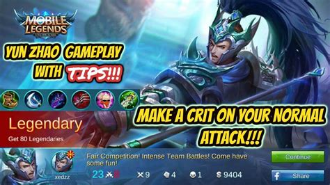 Mobile Legends Zilong 1 mobile legends zilong gameplay with item build