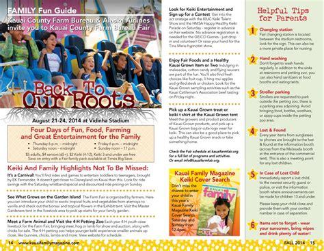 kauai summer fun guide kauai family magazine kauai county farm bureau family fun guide