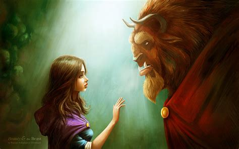beauty and the beast fan art friday beauty and the beast by techgnotic on