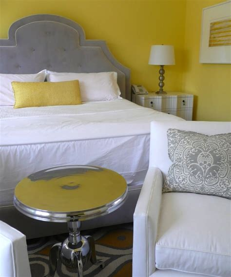 bedroom yellow and grey yellow and gray bedroom contemporary bedroom