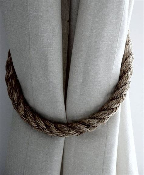 rustic curtain tie backs 1000 ideas about curtain ties on pinterest curtain tie