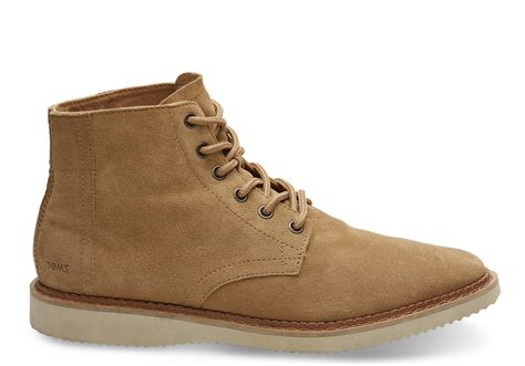 toffee suede s porter boots toms 174
