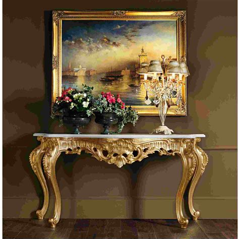 Deco Table Baroque by Tableau Style Baroque Moderne